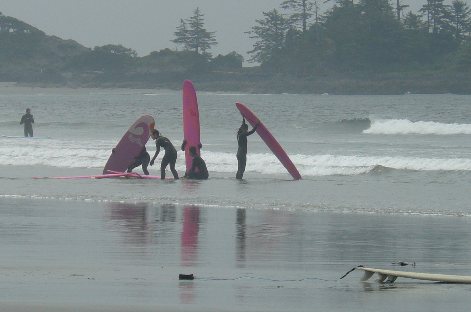 West coast surfers.... Canada by Laurie Cochrane