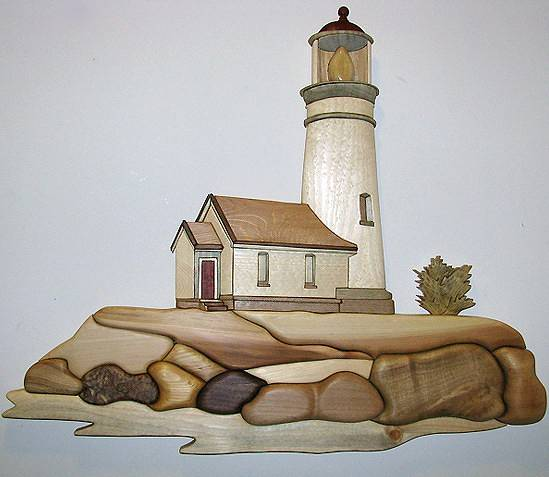 Lighthouse by Vicki Allesia