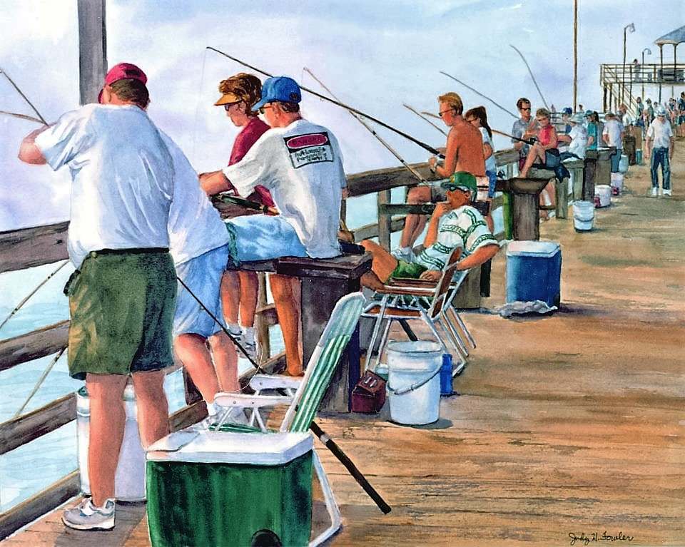 Watercolor Time Well Spent  by Judy Fowler