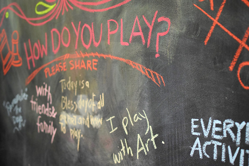 The Way We Play - Art Show & Play Day by Sara Kaltwasser