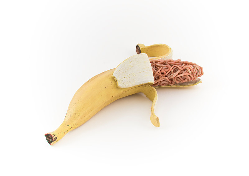 Drawing banana by Matthew  Dercole