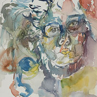 Watercolor untitled by James Dougan