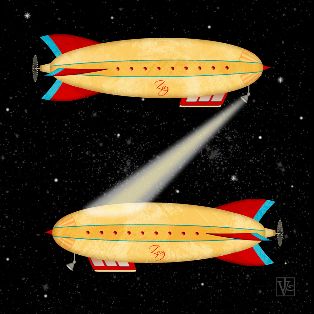 Z is for Zeppelin  by Valerie Lesiak