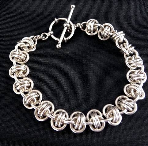 Barrel Weave Bracelet by Vicki Allesia