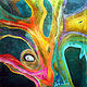 Acrylic painting Tree of Life by Linda Richardi