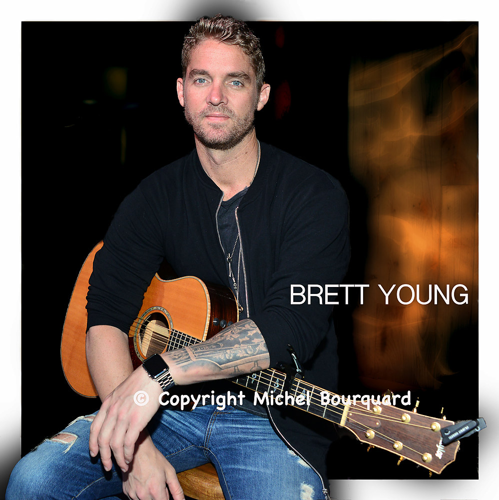 Brett Young - © by Michel Bourquard