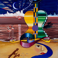 Concert on the Ocean 30 'X 22'' $327.00 Art for Life by Chía Ortegón
