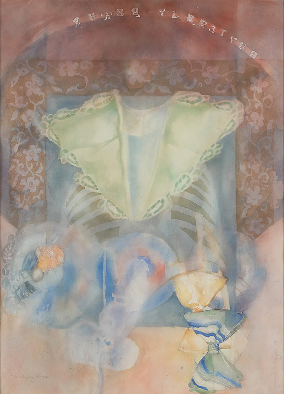 Butterfly Beaux 1988 by James Dougan