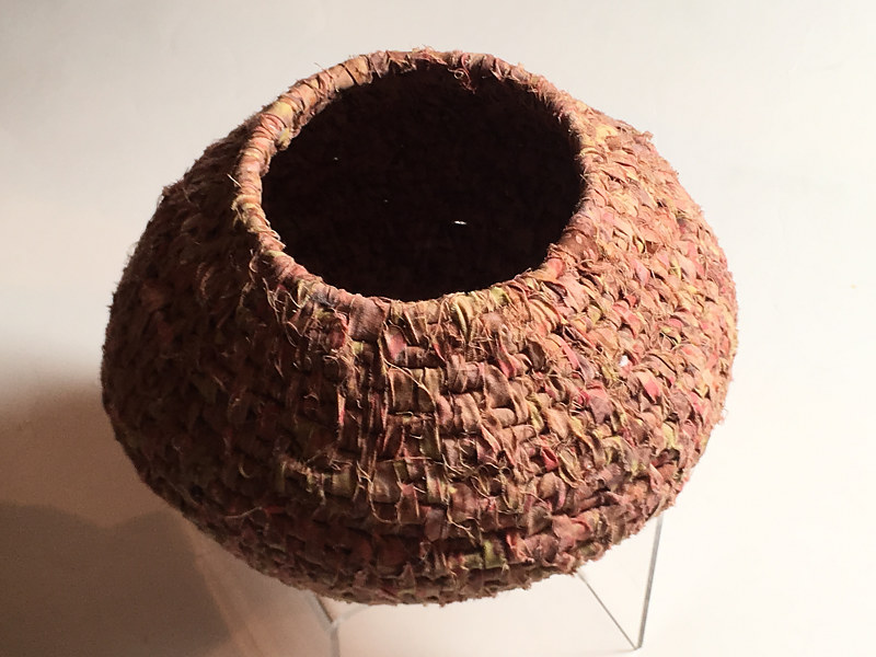 Oil painting Coiled Pot by Alison Lang