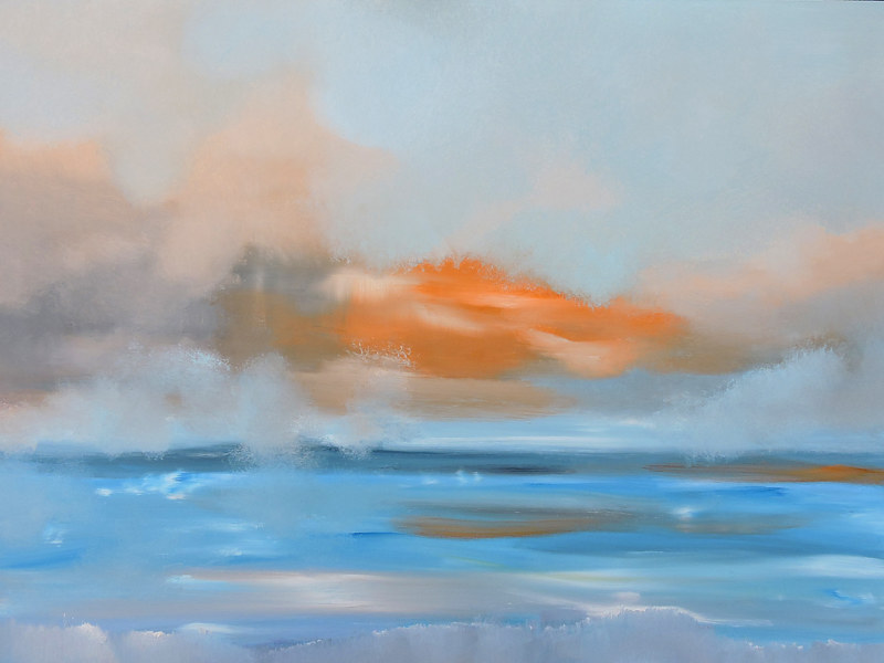 Into Blue and Orange. by Svetlana Barker