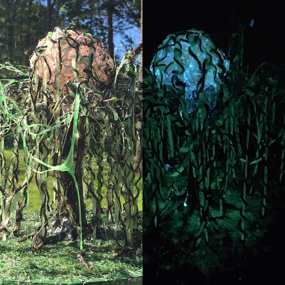 Banyan Brain (detail with day and night views) by Steven Simmons