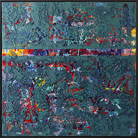 Acrylic painting Threadbare by Kenneth  Herren