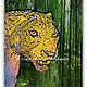 13_Panther in the Bamboo Jungle by Michel Bourquard