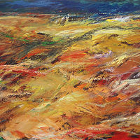 Acrylic painting Tümpisa (Death Valley) No. 3 by David Tycho