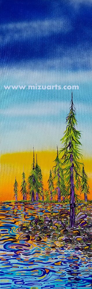Purple Pines  by Isaac Carpenter