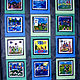 Gr.2- Family Story Quilt Squares - Acrylic on Cotton by Linnie (Victoria) Aikens Lindsay