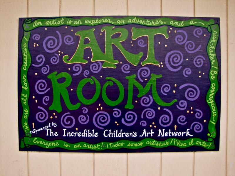 Art Room Sign (2011) by Linnie (Victoria) Aikens Lindsay