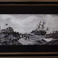 Drawing Danish Maritime by Frans Geerlings