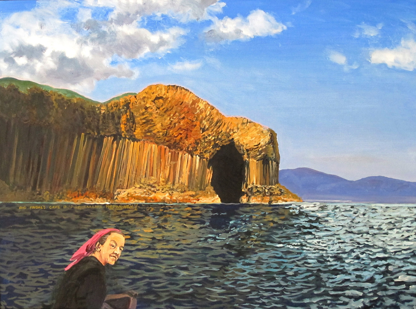 Did Fingal's Cave Influence Barbara Hepworth by David  Maxim