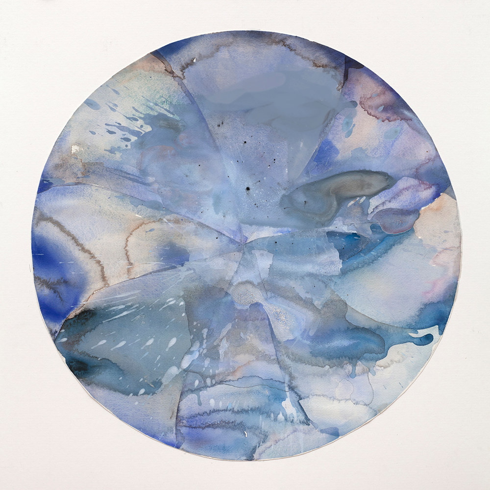 Watercolor Round Dance #12 by Clare Asch