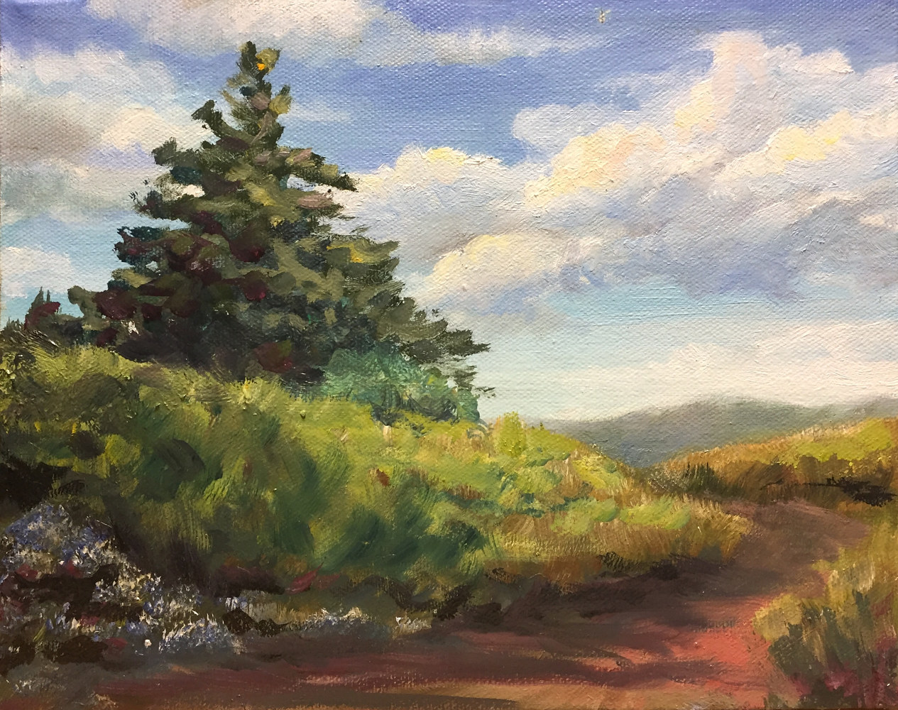 "Oil painting ""Catskill Mountains"" by Elizabeth4361 Medeiros"