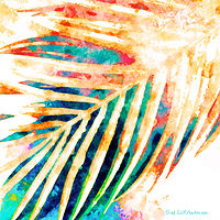 Print PALM 7 T by Todd Scott Anderson