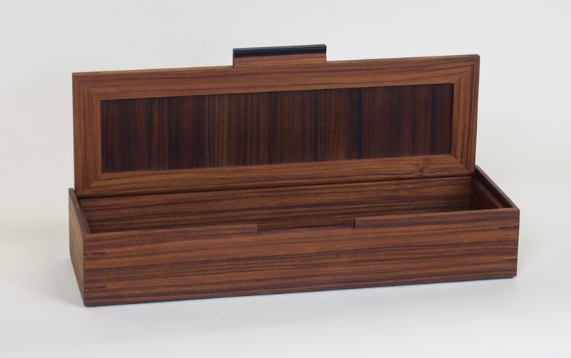 Rosewood Keepsake Box by Enrique Morales