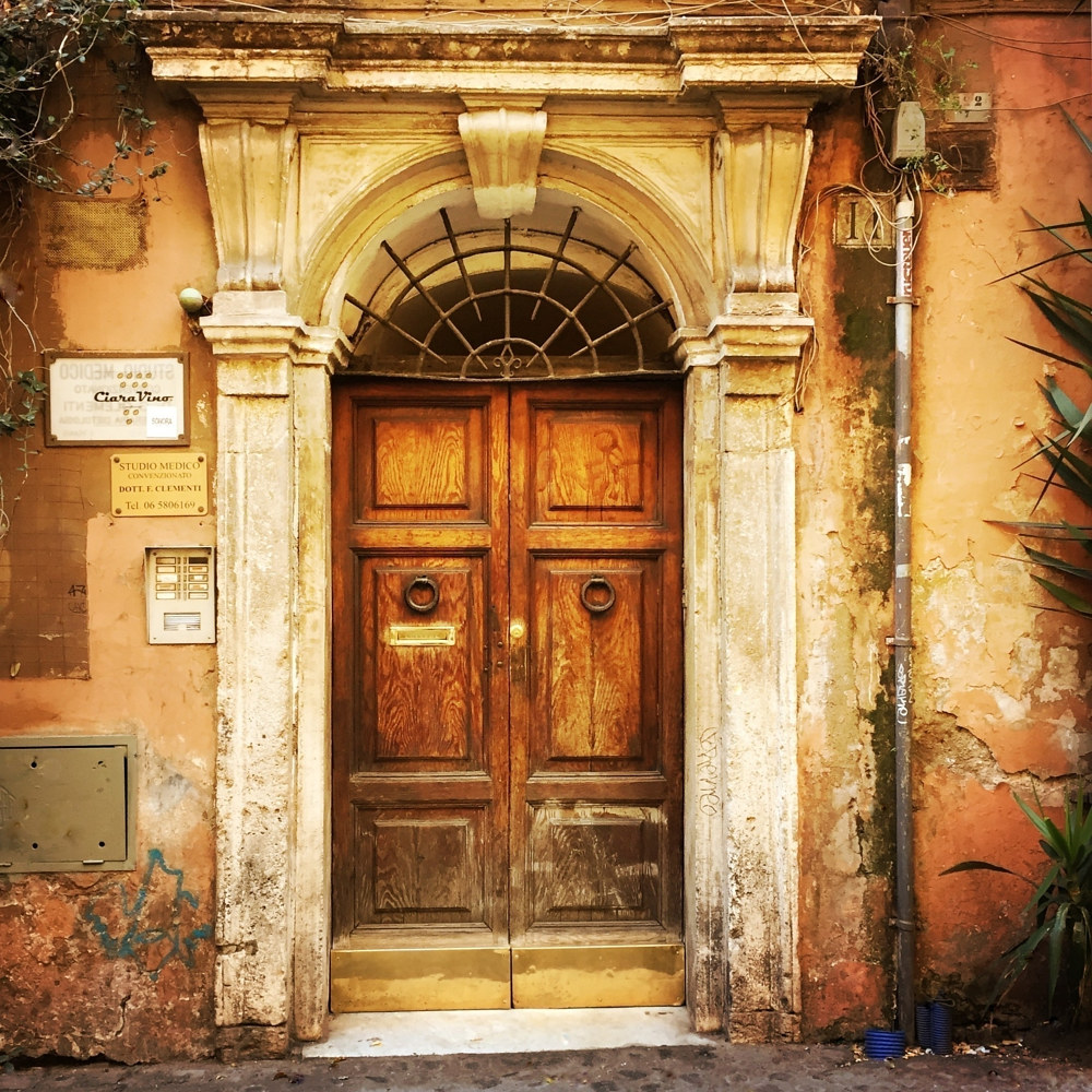 Doors, Rome by Susan Raines