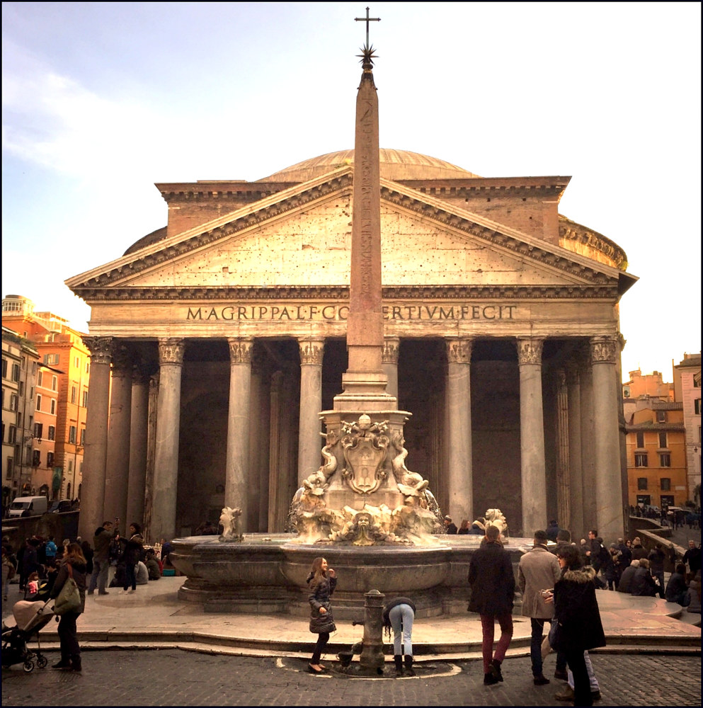 The Pantheon, Rome by Susan Raines