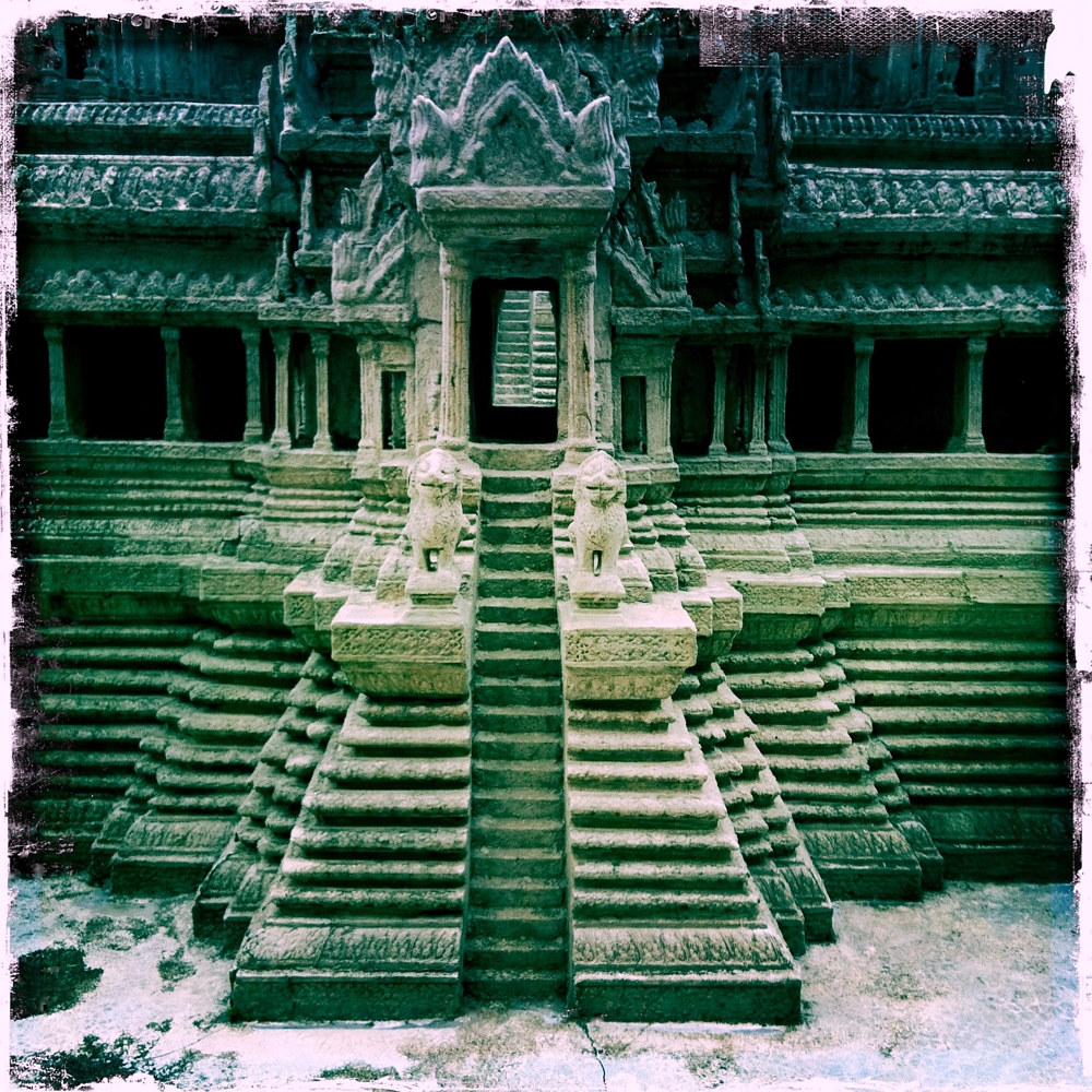 Angkor Wat Temple Model, Bangkok by Susan Raines
