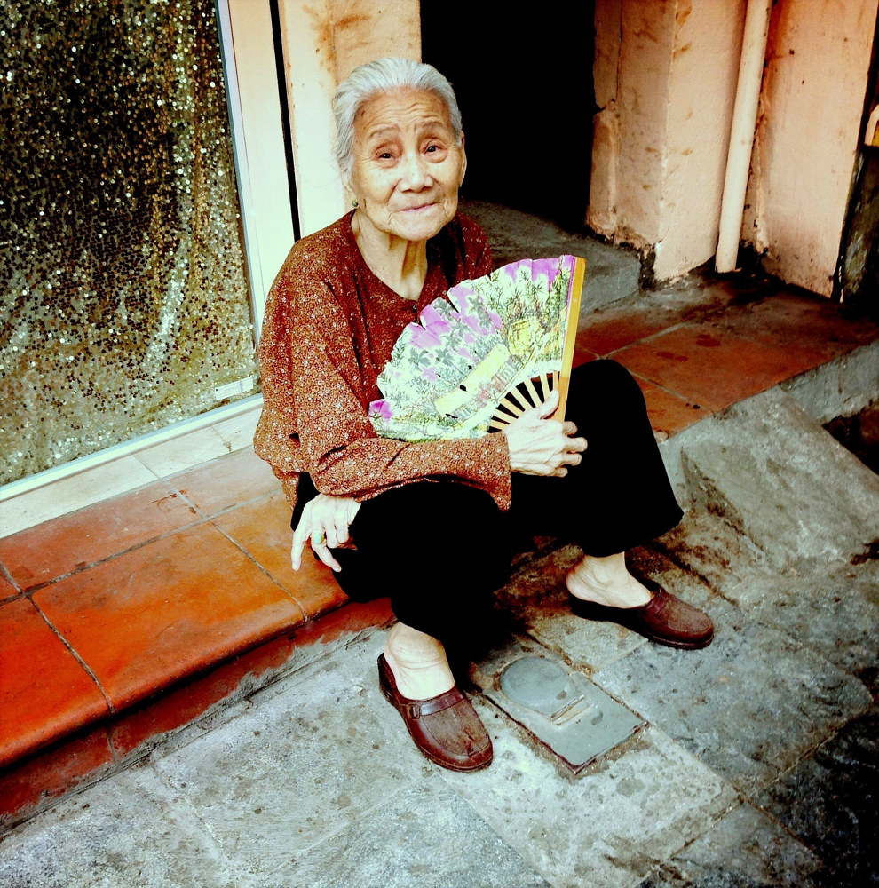 Woman in Hanoi by Susan Raines