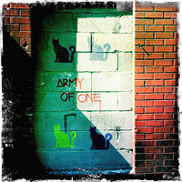 Army of One/New York by Susan Raines