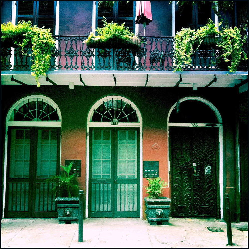 French Quarter Scene by Susan Raines
