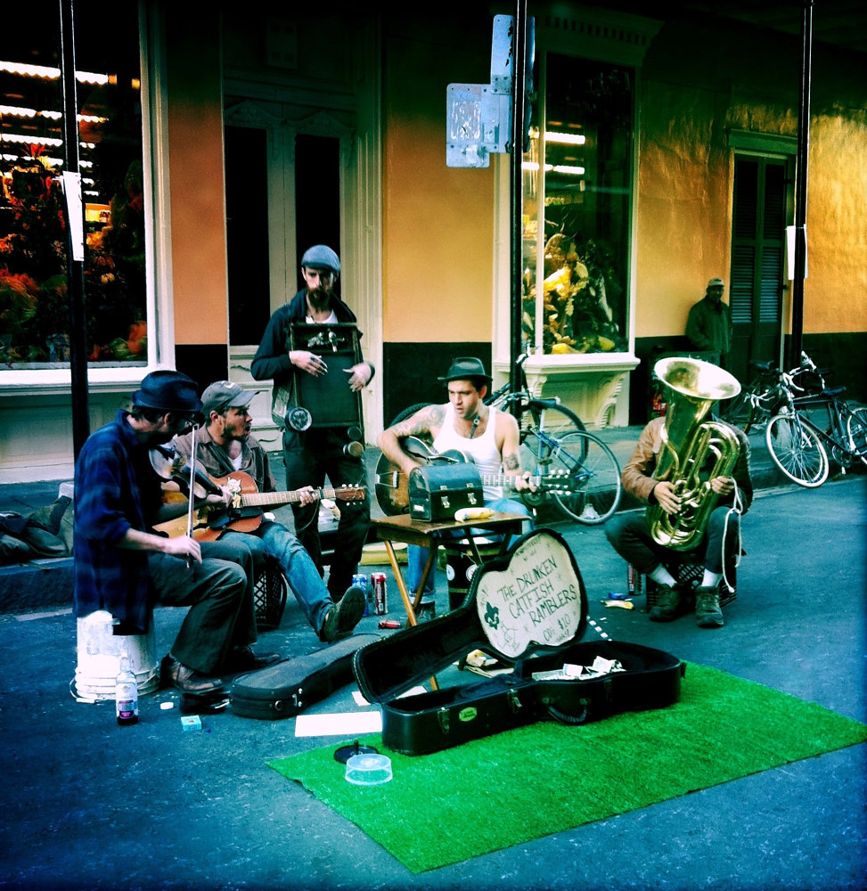 Street Musicians by Susan Raines