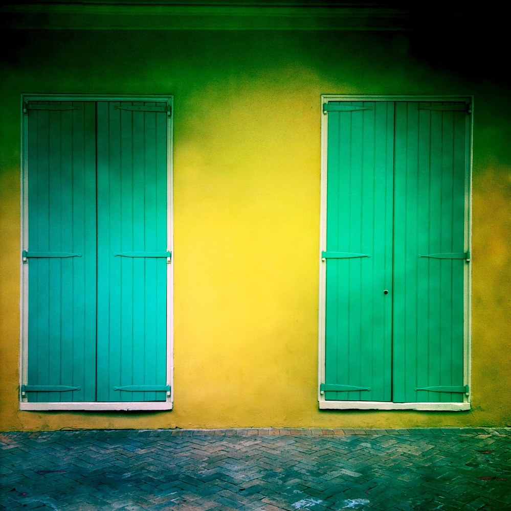 Green Doors by Susan Raines