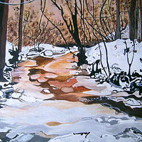 winter thaw 2012 by Kathleen Contri