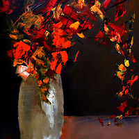 Bouquet for Birthday by Svetlana Barker