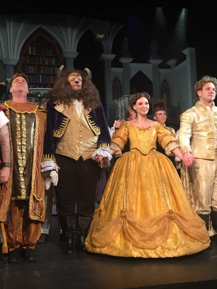 Beauty and the Beast - Academy Theatre - May 2017 by Yvonne Shaffer