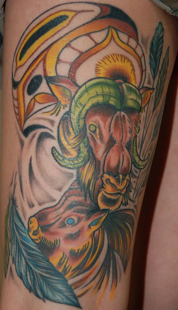 Ox And Haida Tattoo Narrow Waters Tattoo Kelowna Bc