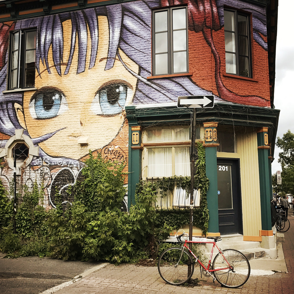 Big Eyes/Montreal by Susan Raines