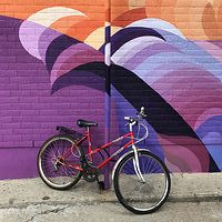 Red Bike by Susan Raines