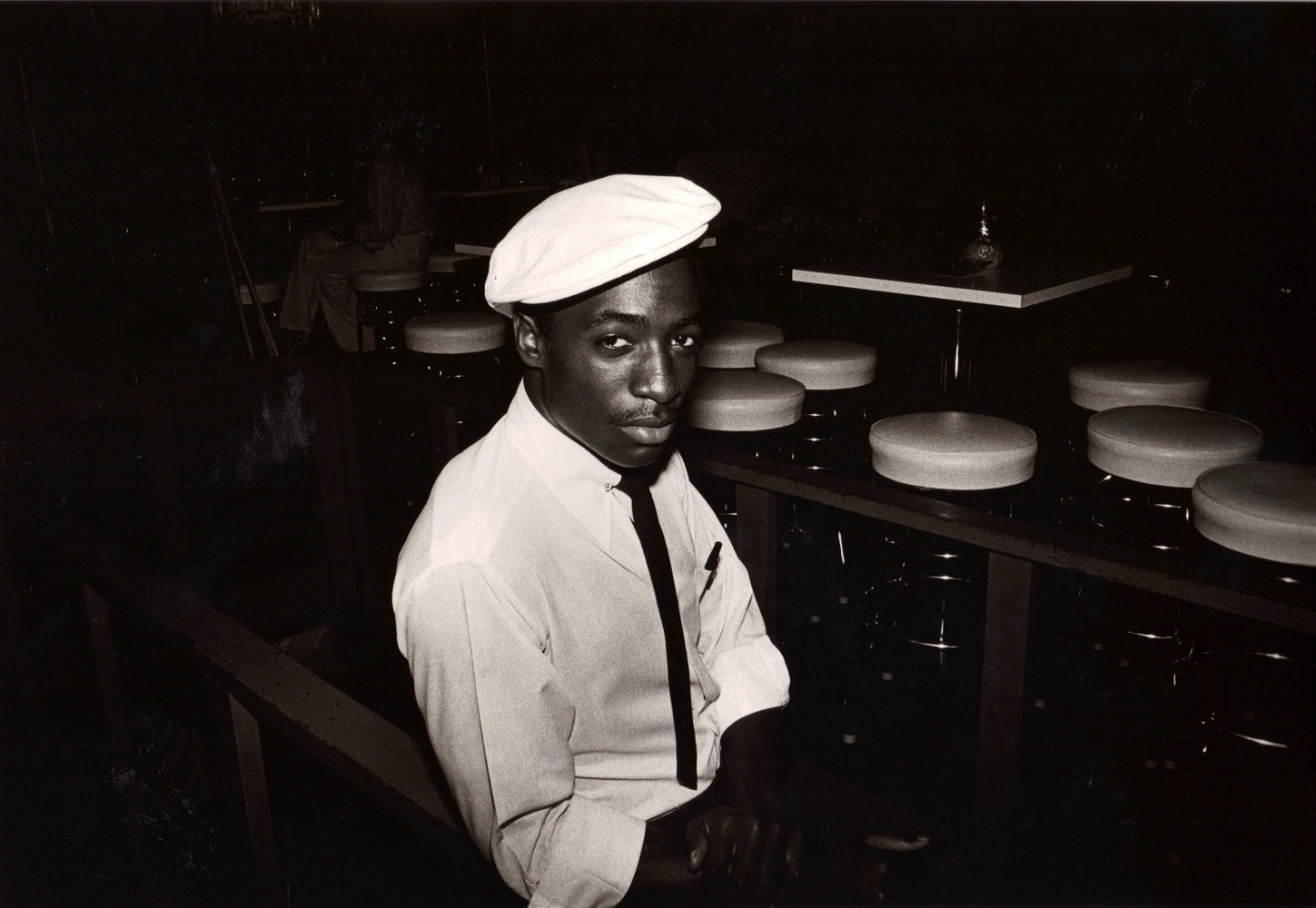 Waiter at Cisco's, Atlanta by Susan Raines