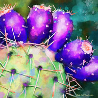 Print SONORA CACTUS 4 D by Todd Scott Anderson