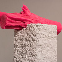 Untitled (Castor / Pink) by Magali Hebert-Huot