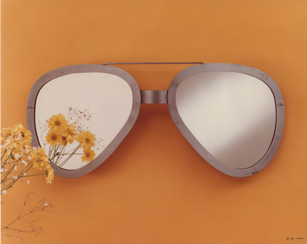 Aviator Glasses Mirrors (wall) by Linnie (Victoria) Aikens Lindsay