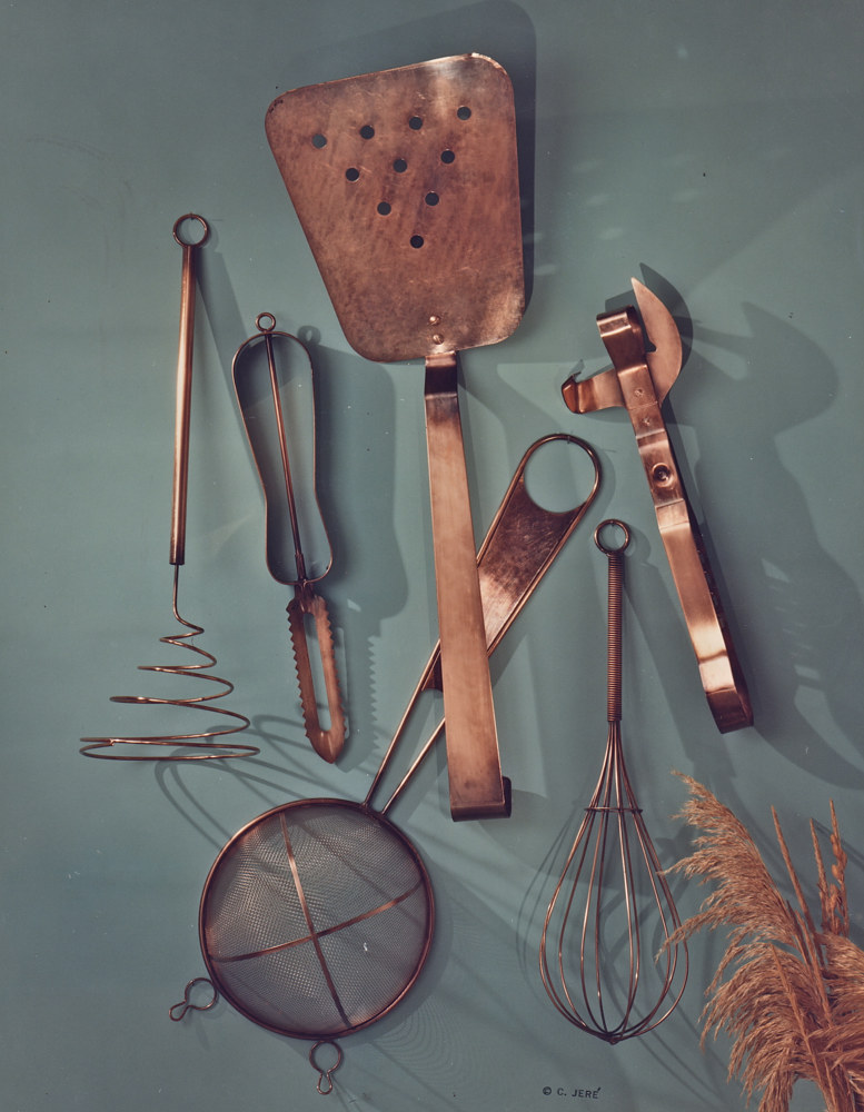Assorted Kitchen Utensils (hanging/wall) by Linnie (Victoria) Aikens Lindsay