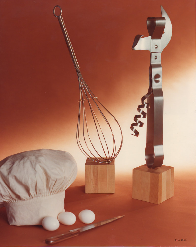 Kitchen Utensils (tabletop and standing) by Linnie (Victoria) Aikens Lindsay