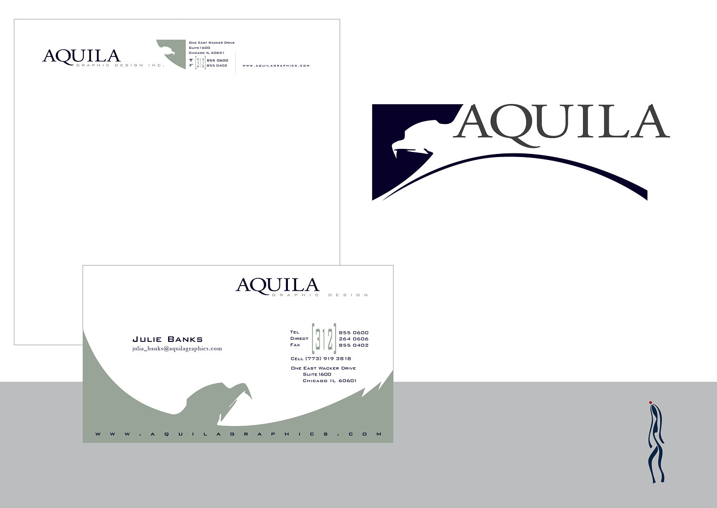 Aquila Graphic Design | Design Firm by Nathalie Gribinski