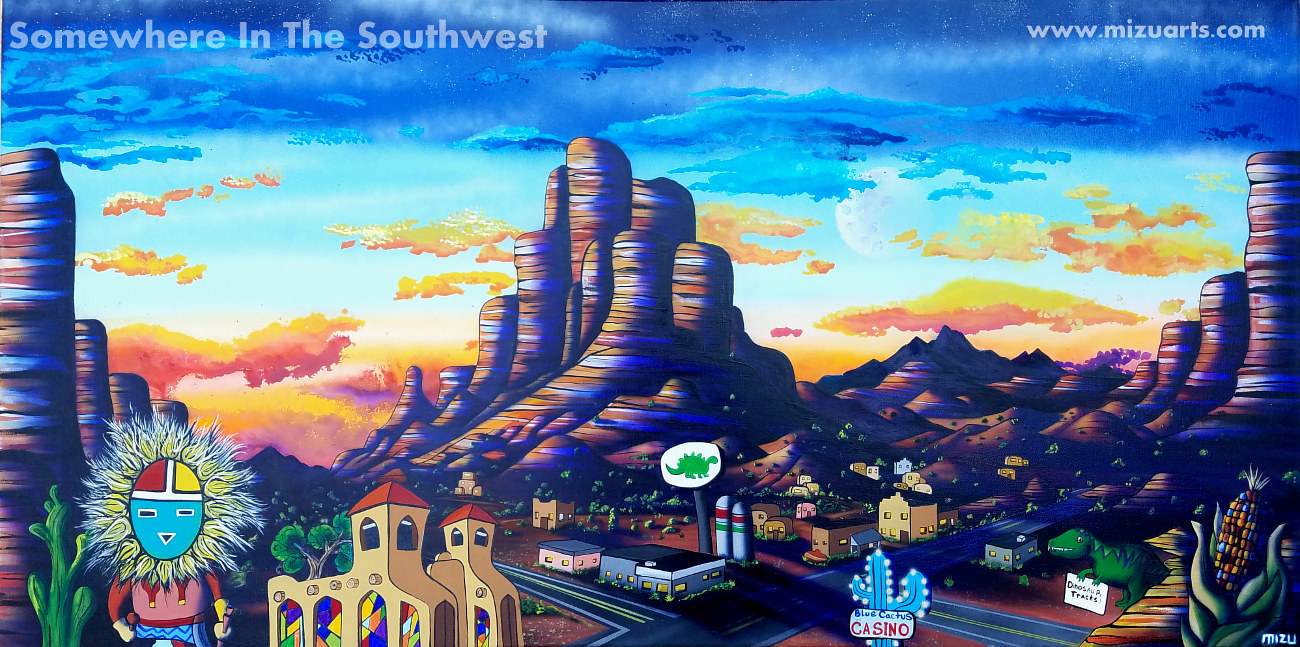 Somewhere In The Southwest   by Isaac Carpenter