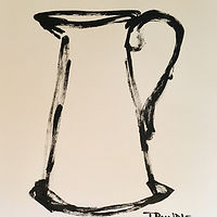 Acrylic painting Pitcher by Sarah Trundle